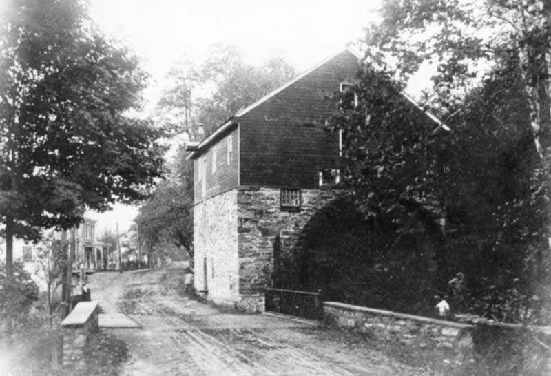 Shawnee Mill made electric power for Charles C. Worthington, builder of Shawnee Inn.