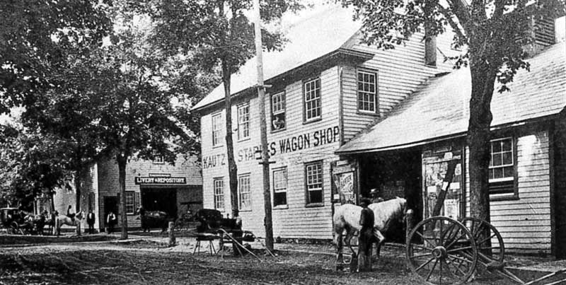 Kautz Stables and Wagon Shop, Stroudsburg.