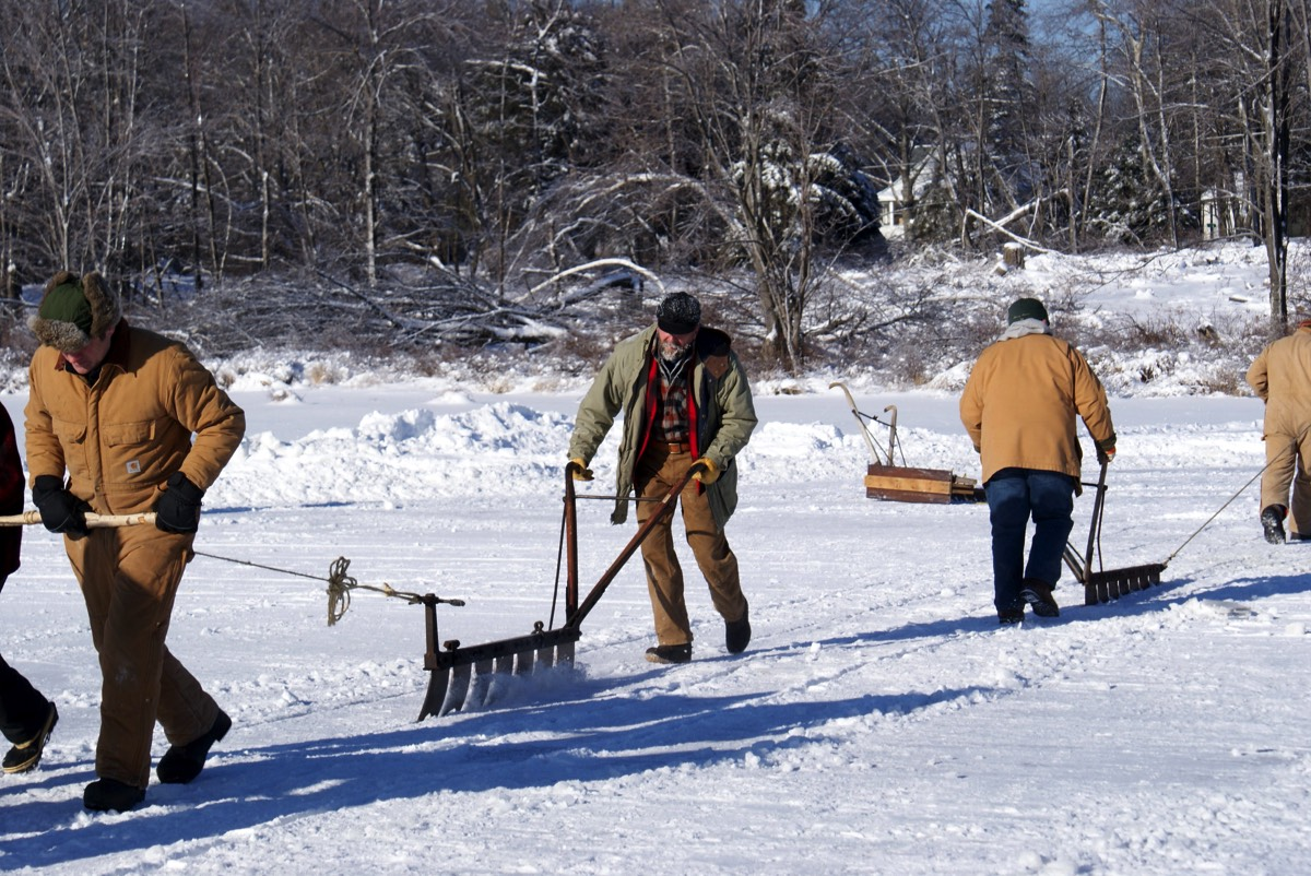 2017 | Tobyhanna Ice Harvest Event, Coolbaugh Township