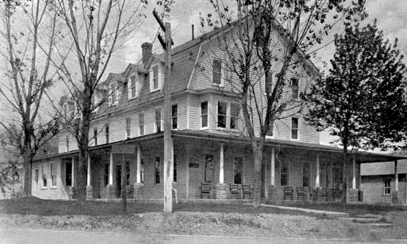 The Forest Inn, Bartonsville, later, with addition.