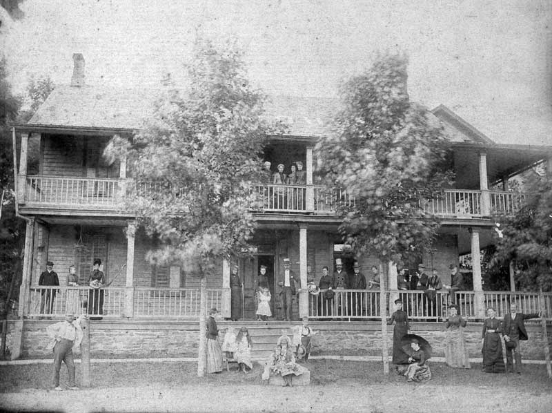 Parkside House in Henrville. (Parkside was an early name for the village.)