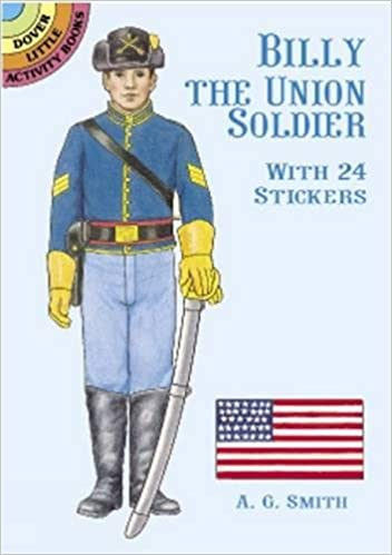 Billy the Union Soldier Stickers