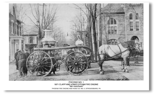Clapp & Jones Steam Engine Print