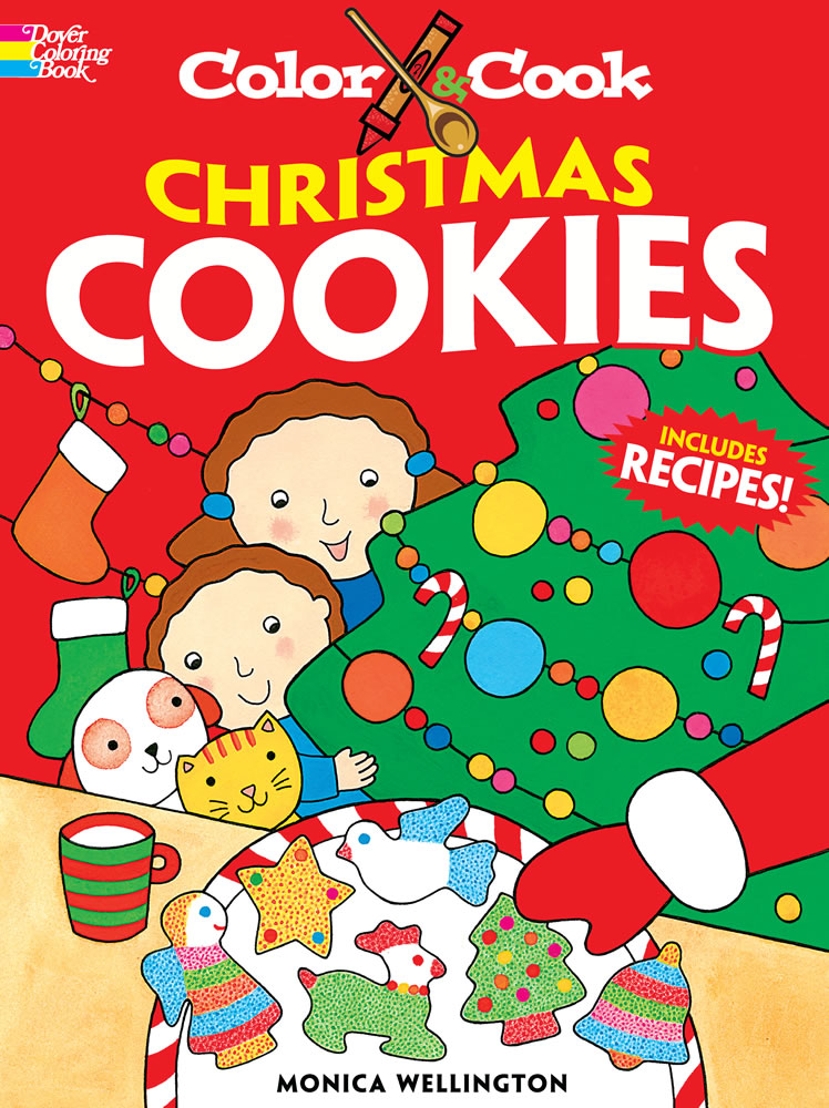 Color & Cook Christmas Cookies