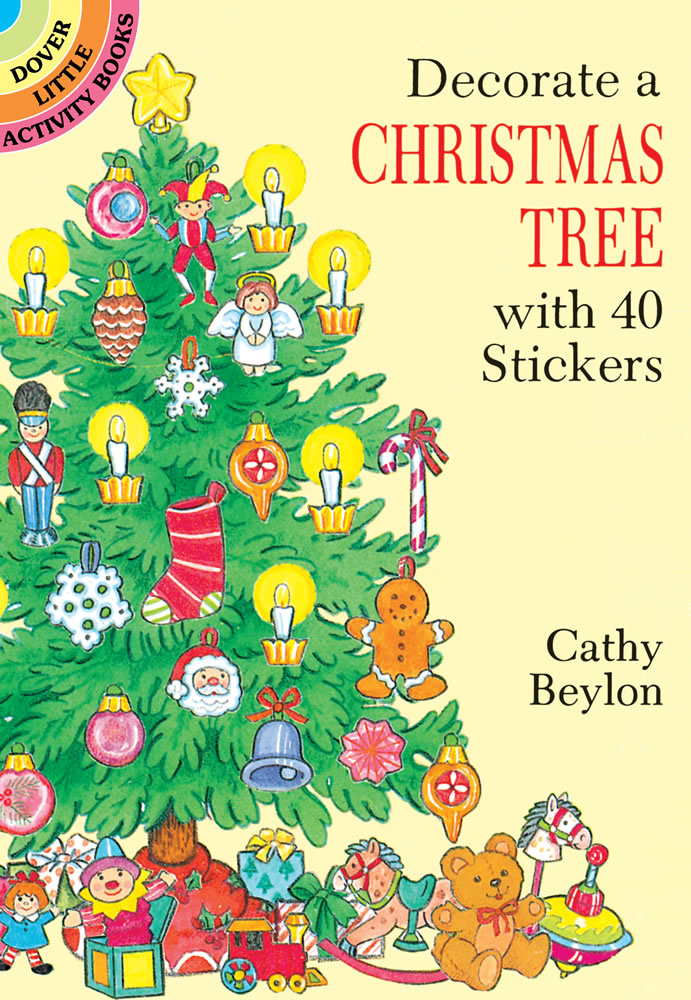 Decorate a Christmas Tree Stickers