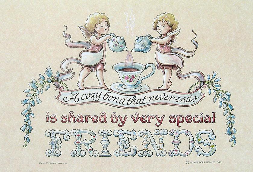 'Friends' Fraktur