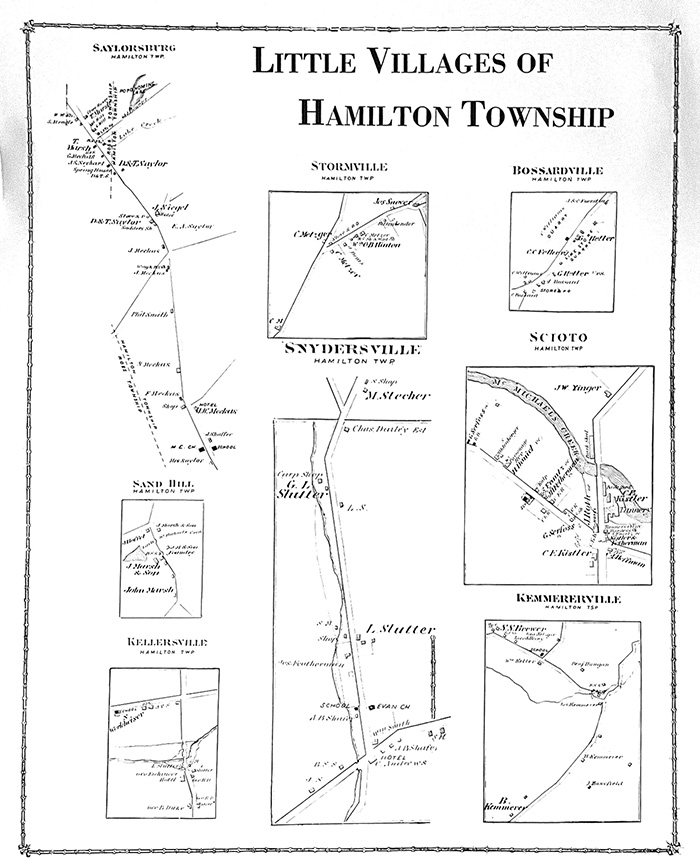 1875 Little Villages of Hamilton Twp Map