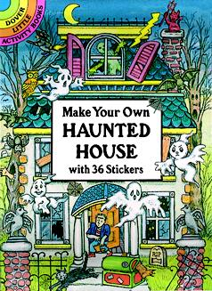 Make Your Own Haunted House Stickers