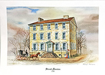 Stroud Mansion, 1795