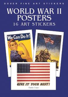 World War II Posters Stickers
