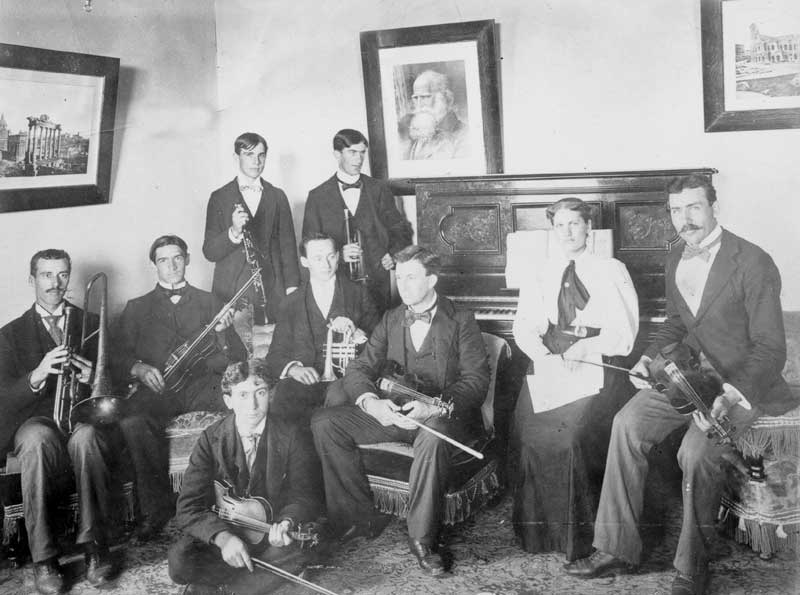East Stroudsburg State Normal School orchestra, 1893-1900.