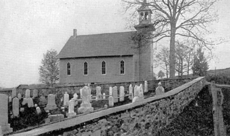 St. John's Evangelical Congregation Church in Bartonsville, built in 1892.