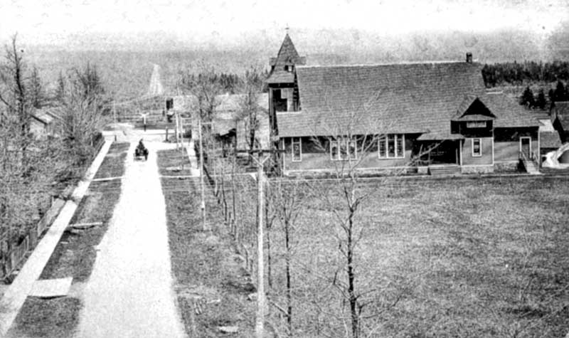Church Street in Tobyhanna, circa 1910