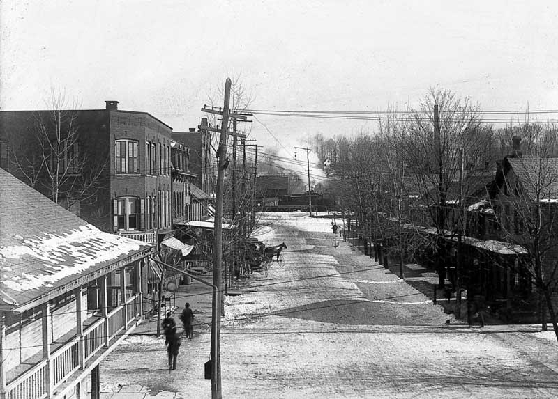 Washington Street, East Stroudsburg, circa 1910.