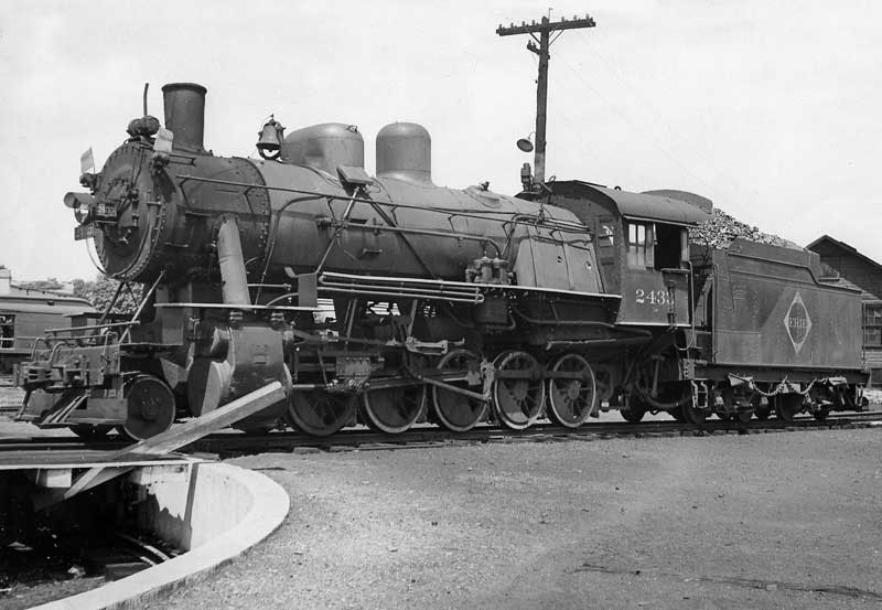 Erie railroad type 2-10-0 locomotive built in 1918 at Stroudsburg.